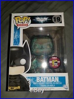 Funko Pop! Batman Patina SDCC 2012 The Dark Knight Rises Rare
