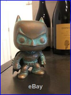 Funko Pop! Batman Patina SDCC 2012 The Dark Knight Rises Rare GRAIL VAULTED
