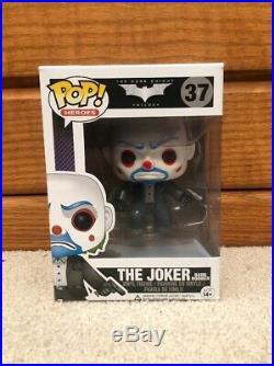 Funko Pop! Batman The Dark Knight Trilogy Bank Robber Joker #37 Vaulted/Retired