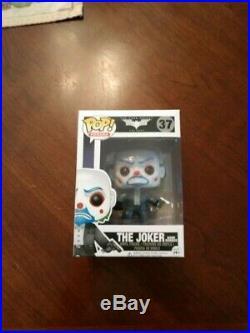 Funko Pop! DC Comics Batman The Dark Knight Trilogy Bank Robber The Joker #37