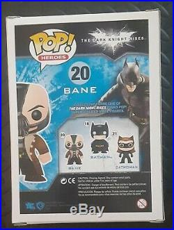 Funko Pop Figure #20 Bane The Dark Knight Rises