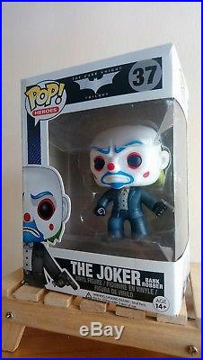 Funko Pop Heroes #37 The Dark Knight Trilogy The Joker Bank Robber Flaws