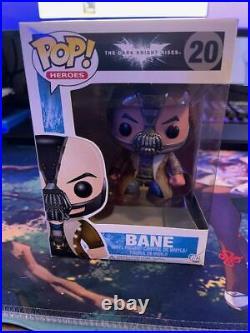 Funko Pop! Heroes Batman The Dark Knight Rises #20 Bane Trilogy Begins DC Comics