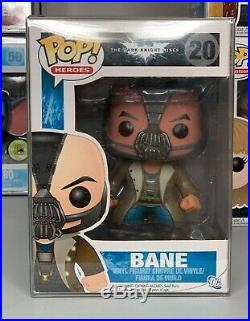 Funko Pop Heroes The Dark Knight Rises Bane 20 with Soft Protector