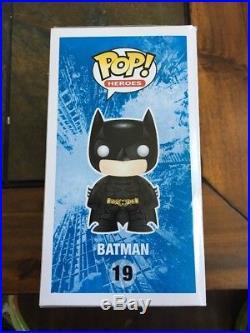 Funko Pop Heroes The Dark Knight Rises Patina Batman Sdcc 2012 Le480 Vhtf