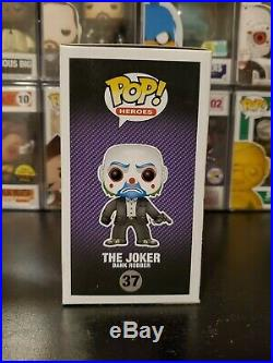 Funko Pop! Heroes The Dark Knight Trilogy The Joker Bank Robber #37 With PROTECTOR