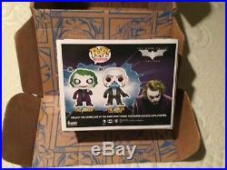 Funko Pop Joker (The Dark Knight) 2 Pack Gemini Exclusive