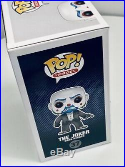 Funko Pop! The Dark Knight Joker (37) Bank Robber Vaulted Rare WithProtector VHTF
