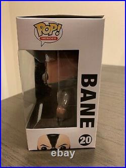 Funko Pop! The Dark Knight Rises Bane #20 Rare VHTF Vaulted