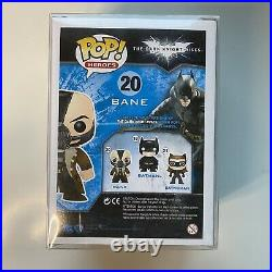 Funko Pop! The Dark Knight Rises Bane #20 (With Pop Protector)