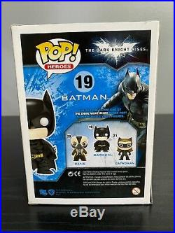 Funko Pop! The Dark Knight Rises Patina Batman 2012 SDCC Exclusive LE 480 PCS