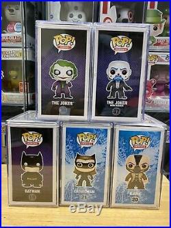 Funko Pop! The Dark Knight Trilogy And The Dark Knight Rises Set MINT