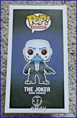Funko Pop! The Dark Knight Trilogy The Joker 37 Thug Rare Vinyl Vaulted Retired