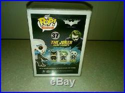 Funko Pop The Dark Knight Trilogy The Joker Bank Robber #37 Rare BNIB