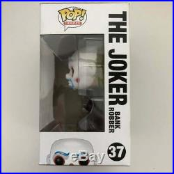 Funko Pop The Dark Knight Trilogy The Joker Bank Robber #37 VAULTED Hard Stack