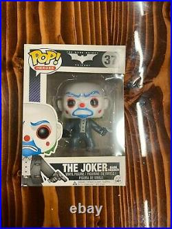 Funko Pop! The Joker Bank Robber #37 The Dark Knight GREAT CONDITION UNOPENED