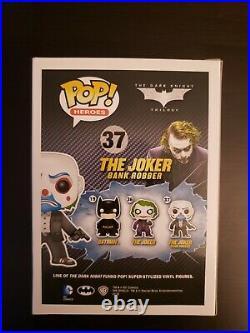 Funko Pop! The Joker Bank Robber #37 The Dark Knight Vaulted