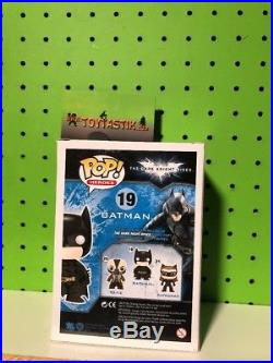 Funko Pop Vinyl DC The Dark Knight Patina Batman SDCC 2012 Exclusive