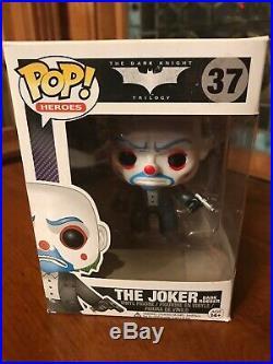 Funko Pop Vinyl Joker Bank Robber 37 The Dark Knight Heroes 2013