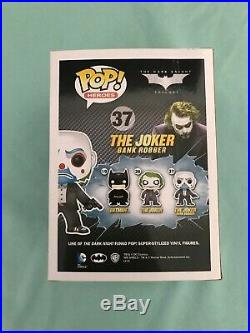 Funko Pop Vinyl The Joker Bank Robber #37 Heath Ledger The Dark Knight