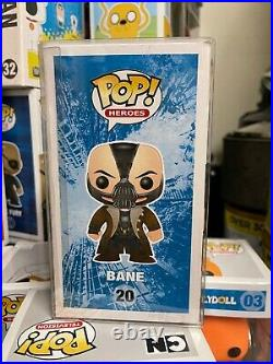 Funko pop The Dark Knight Rises Bane 20 Vaulted Rare