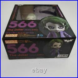 Good Smile Dark Knight The Joker Nendoroid Villains Edition 566 Authentic Figure