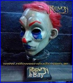 Happy Clown Latex Mask Batman The Dark Knight