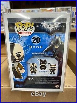 Heroes The Dark Knight Rises Bane #20 Funko Pop! Ship Fast Free