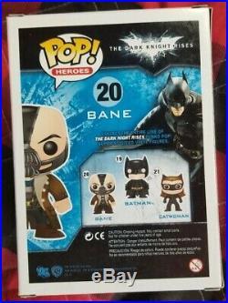Heroes The Dark Knight Rises Bane #20 Funko Pop! Vinyl Figure