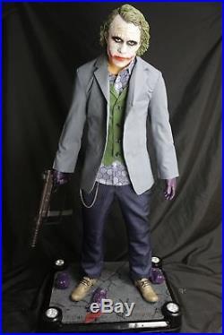 Hot P1S 1/2 Scale Batman The Dark Knight The Joker Recast Statue