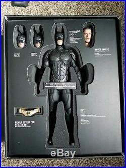 Hot Toys DX12 The Dark Knight Rises Batman Collectible Figure