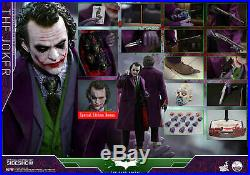 Hot Toys Dark Knight 1/4th scale JOKER EXCLUSIVE Collectible Figure NEW. SEALED