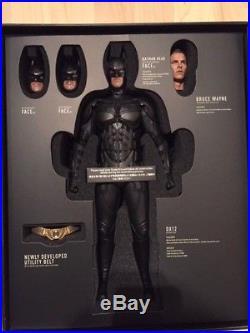 Hot Toys Dx12 Batman The Dark Knight Rises Batman Christian Bale 1/6 Collectible