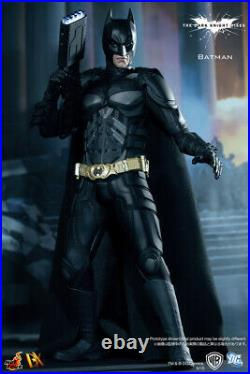 Hot Toys HT DX12 1/6 Batman Body Figure The Dark Knight Rises Collectible 12in