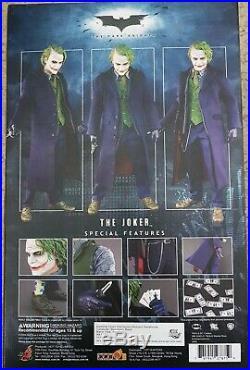 Hot Toys Sideshow Batman The Dark Knight The Joker MMS68 Neuwertig