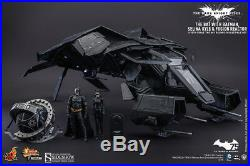 Hot Toys THE DARK KNIGHT RISES Deluxe Set THE BAT Sideshow NEW IN BOX! DC Batman