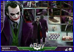 Hot Toys The Dark Knight 1/4th scale JOKER EXCLUSIVE Collectible Figure NEW QS10