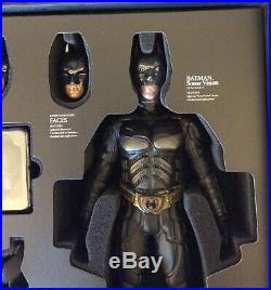 Hot Toys The Dark Knight BATMAN DX02 1/6 Scale Collectible Figure DC