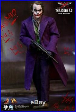 Hot Toys The Dark Knight Joker 2.0 DX11 1/6 Scale Collectible Figure