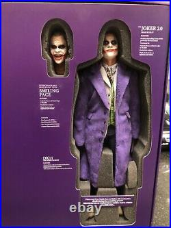 Hot Toys The Joker 2.0 DX11 TDK The Dark Knight Collectible Action Figure 1/6