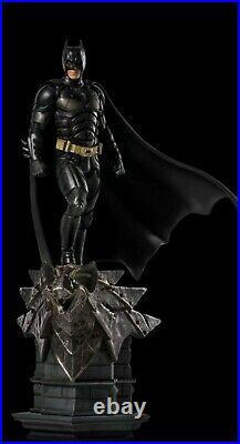 Iron Studios DC Comics Batman The Dark Knight Batman Deluxe Art Scale Statue NIB