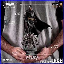 Iron Studios DC Comics Batman The Dark Knight Batman Deluxe Art Scale Statue New