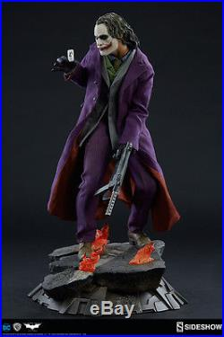 Joker Heath Ledger The Dark Knight Premium Statue Sideshow Exclusive