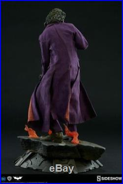 Joker Heath Ledger The Dark Knight Premium Statue Sideshow Exclusive 3002511