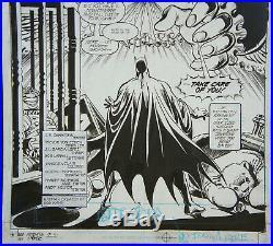 Jose Luis Garcia Lopez Legends Of The Dark Knight 151 Page 3 Splash