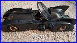 KENNER 1990 THE DARK KNIGHT COLLECTION Batmobile with BATMAN