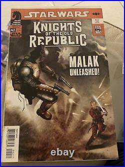 KNIGHTS OF THE OLD REPUBLIC #42 Dark Horse Star Wars Origin of Darth Malak