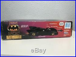Kenner 1990 Batman The Dark Knight Collection BATMOBILE complete in Box