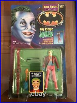 Kenner The Dark Knight Collection Sky Escape Joker Batman Action Figure 1990