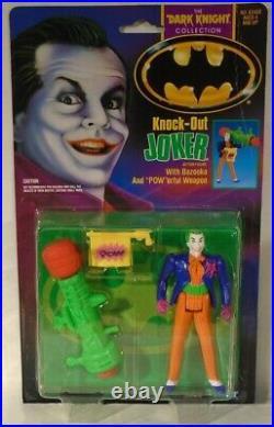 Knock Out Joker Kenner Batman The Dark Knight Movie Collection Nicholson READ